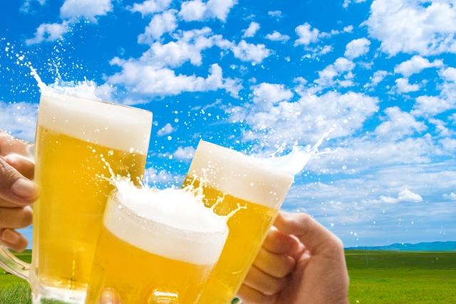 ビールと自然でうっぷんを晴らそう
